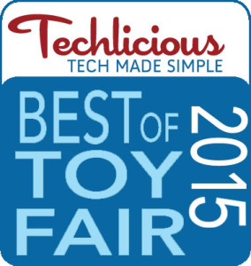Techlicious Best of Toy Fair 2015 Award