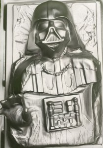 Darth Vader in Carbonite