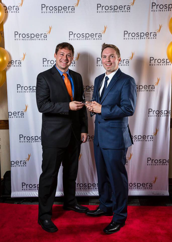 Prospera Business Network Awards - Salient's David Yakos & Steve Sanford
