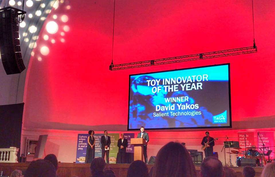 TAGIE Toy Innovator of the Year Award - David Yakos