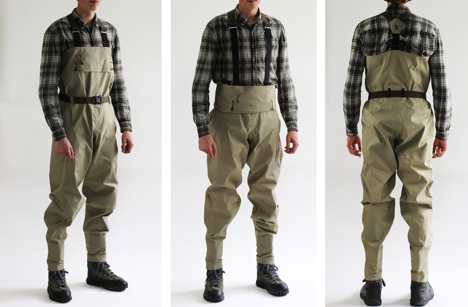 Finished Waders - 3 views